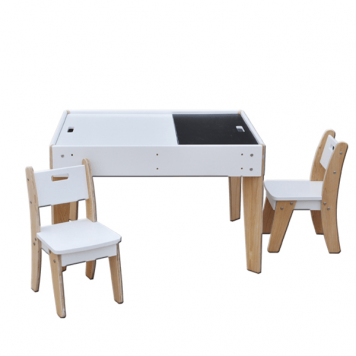 Kids Playroom Table and Chairs Set