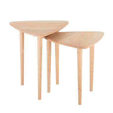 2 Piece Modern Coffee Table Set