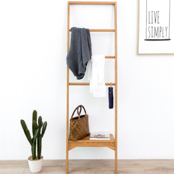 Pine Wood Storage Rack