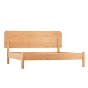 Simple Beech Wood Bed