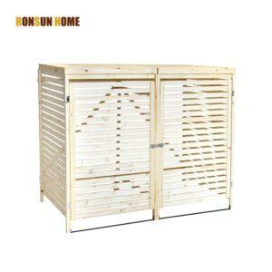 wood bin store