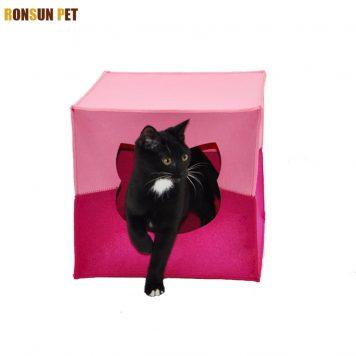 folding cat cave