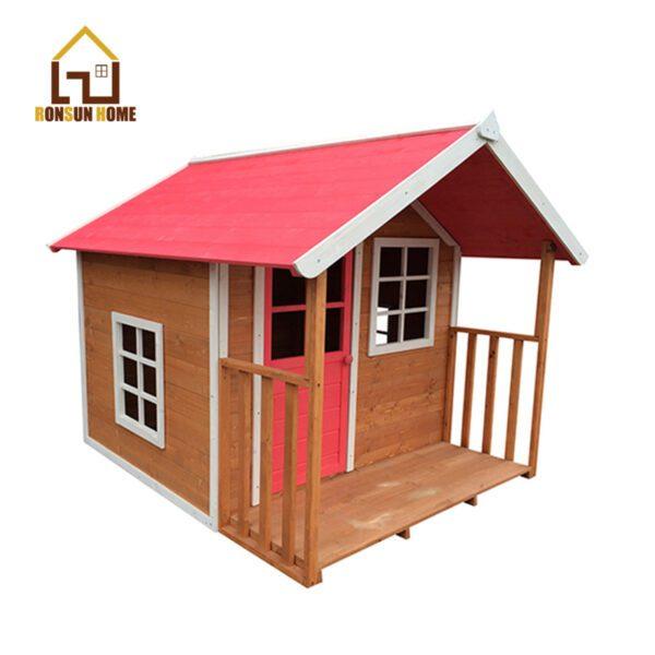wood cubby house