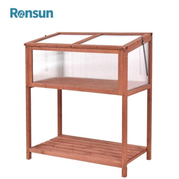 Greenhouse with Bottom Shelf 1