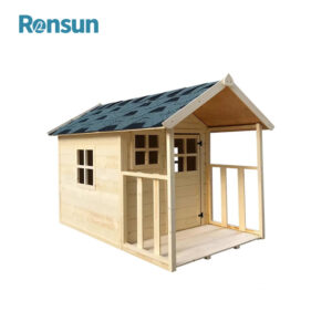 Wooden Cubby House for Kids Wood Playhouse