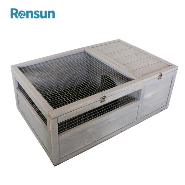 wooden small animal cage - 2