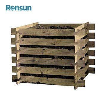 Outdoor Wooden Compost Bin