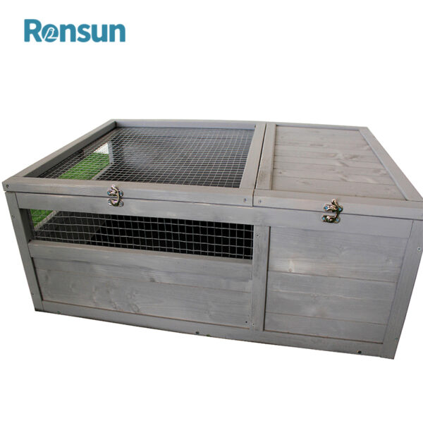 wooden small animal cage - 3