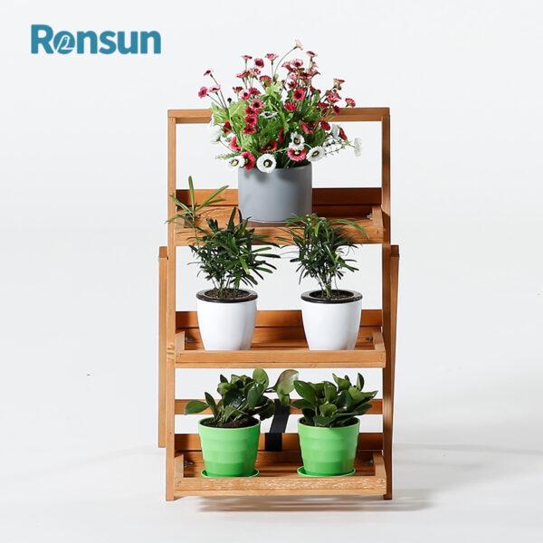 Flower Pot Display Rack Shelf 4